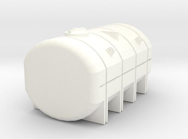 1/64 3750 Gallon Tank in White Processed Versatile Plastic