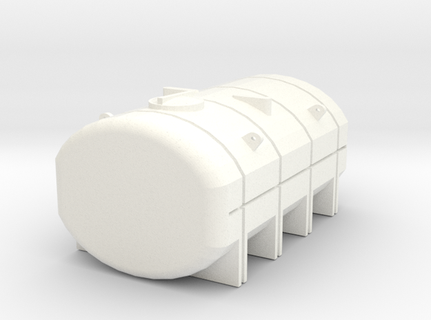 1/64 3250 Gallon Tank in White Strong & Flexible Polished