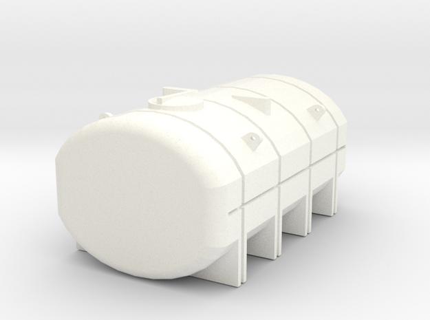 1/64 3250 Gallon Tank in White Processed Versatile Plastic