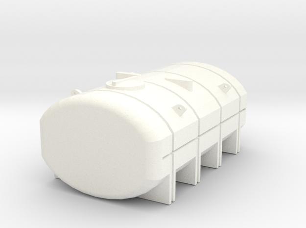 1/64 2750 Gallon Tank in White Processed Versatile Plastic