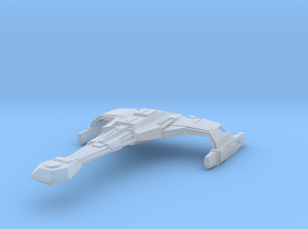 Klingon D2 1/3400 Attack Wing in Smooth Fine Detail Plastic