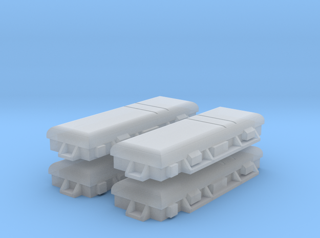 W-01 Surelock Point Motor (Pack of 4) in Smooth Fine Detail Plastic