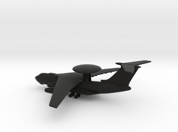 Beriev A-50 Mainstay in Black Natural Versatile Plastic: 1:600