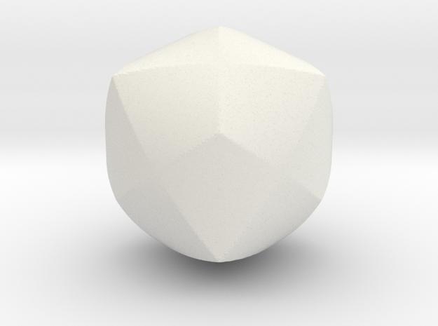 Steinmetz4-40mm in White Natural Versatile Plastic