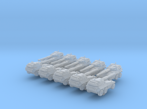 1/700 Italian EE-18 Sucuri Tank Destroyer x10 in Smoothest Fine Detail Plastic
