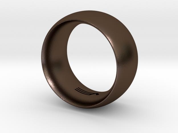 Modern+Convex_Wide in Polished Bronze Steel: 5.5 / 50.25