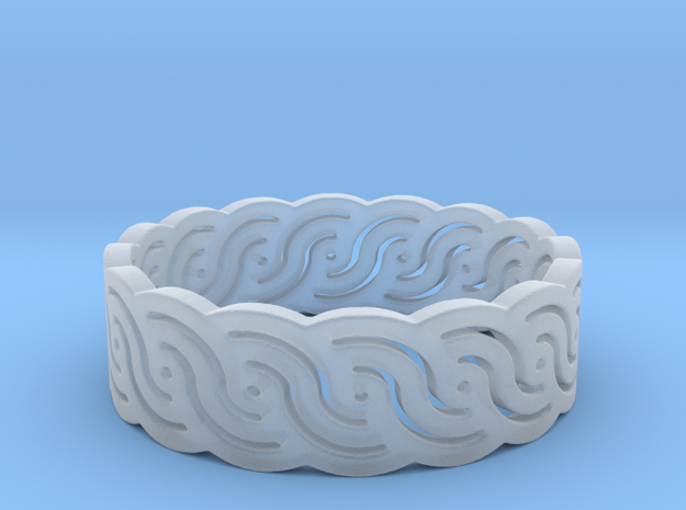 Croatian interlace female ring (+3 morale) in Frosted Extreme Detail