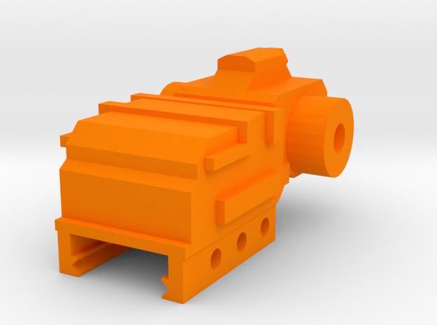 SM-55 Front Iron Sight in Orange Processed Versatile Plastic