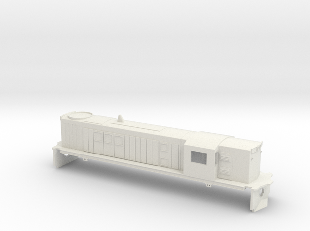 O Scale 830 in White Natural Versatile Plastic