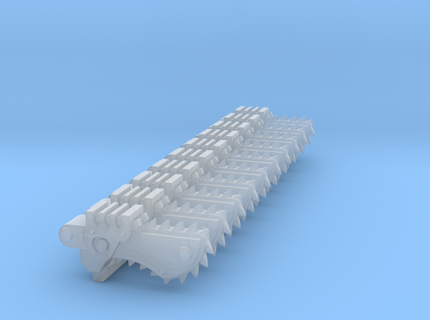 Chain Bayonet #2 in Smooth Fine Detail Plastic
