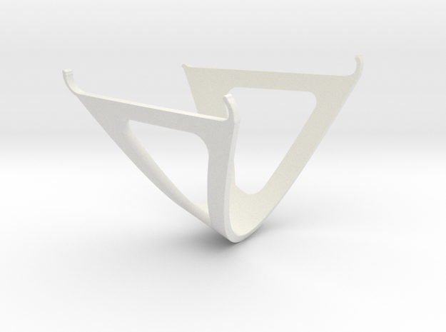 IPhone 6 Stand Trident in White Natural Versatile Plastic
