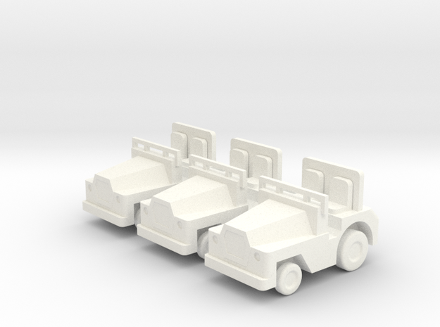 1/87 Scale SM340 Tow Tractors - 3