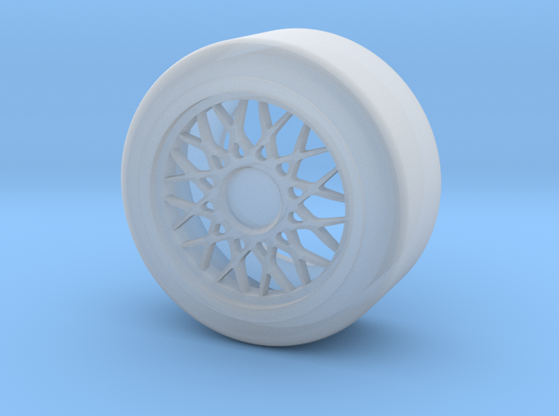 M3 Wheel #1 in Smooth Fine Detail Plastic