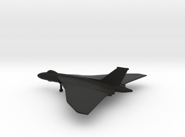 Avro Vulcan B2 in Black Natural Versatile Plastic: 1:400