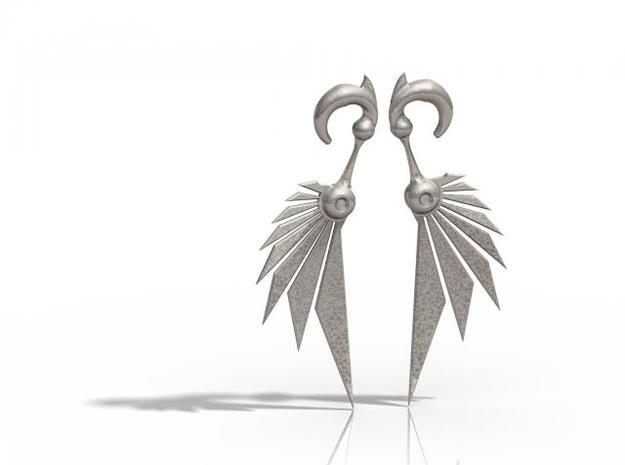 Bladewing Earrings - 4g in Stainless Steel