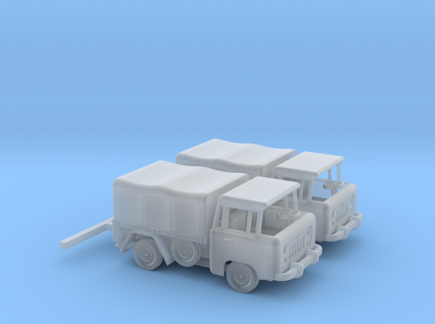1959 FC150 Pickup Truck with Canvas Top (x2) in Frosted Ultra Detail: 1:160 - N