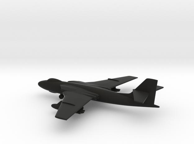 Vickers Valiant B.1 in Black Natural Versatile Plastic: 1:400