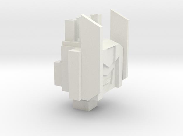 Tankette TR Head/Tank in White Strong & Flexible