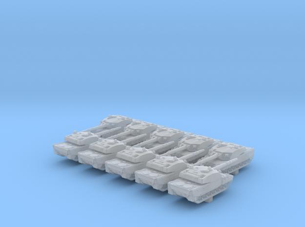 1/600 British Vickers MK7 Main Battle Tank x10 in Smoothest Fine Detail Plastic