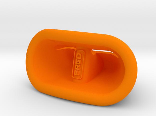 Iphone Speaker Dock in Orange Processed Versatile Plastic