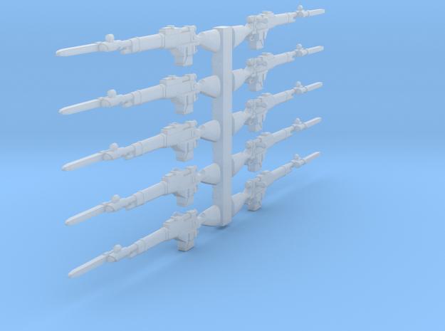 28mm Steampunk Mosin M1891 laser rifles w bayonett
