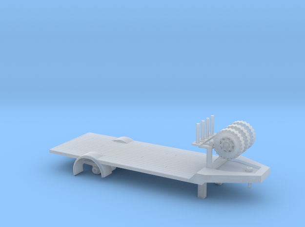 Laadtrailer160 in Smooth Fine Detail Plastic