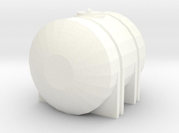 1/64 335 Gallon Tank in White Processed Versatile Plastic