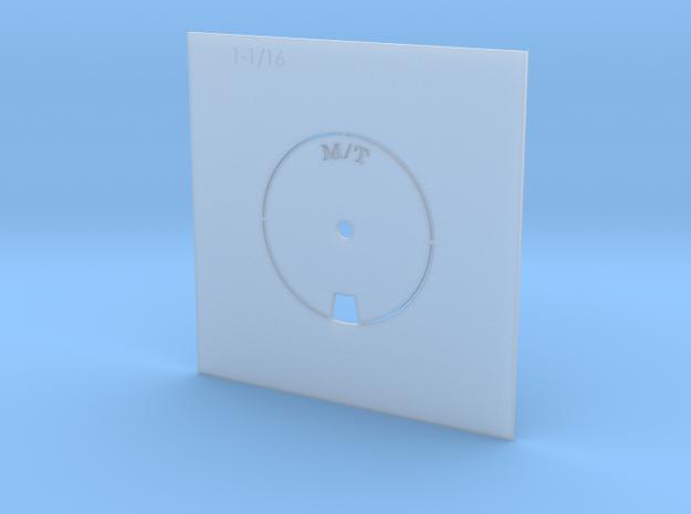 MICKEY THOMPSON TIRE STENCIL 1.0625 in Smooth Fine Detail Plastic