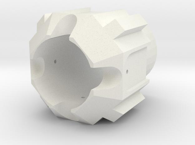 Tfu2 pommel in White Strong & Flexible