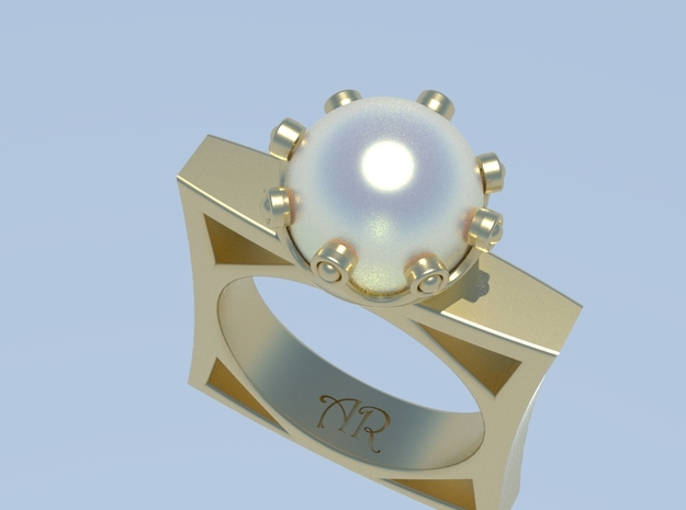Pearl Princess in 14k Gold Plated Brass: 7 / 54