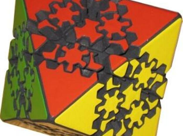 Gear Octahedron 3d printed Gear Octahedron