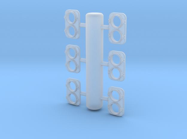 EMD Headlight 1/87.1 in Smoothest Fine Detail Plastic