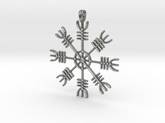Aegishjalmur Icelandic Sign Viking Symbol Jewelry