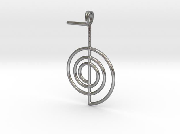Reiki Power Symbolic jewelry Pendant Choku-Rei