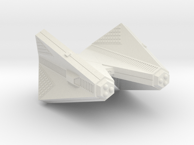 3125 Scale Tholian Cruiser (C) SRZ in White Strong & Flexible