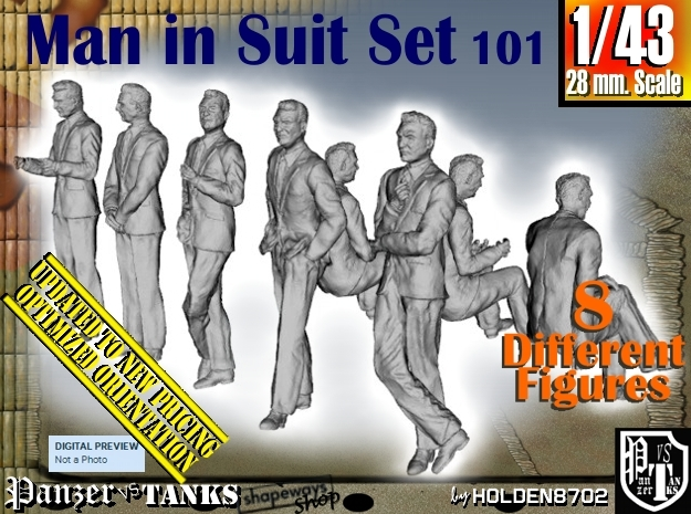 1/43 Man In Suit Set101