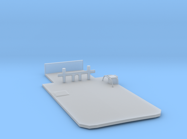 Main Deck Inlay 1/200 V56 for Harbor Tug  in Frosted Ultra Detail