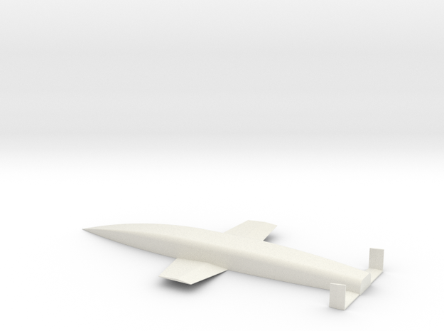 Silverbird - Amerika Bomber in White Strong & Flexible