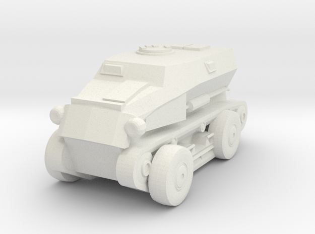 1/100 SdKfz.254 in White Natural Versatile Plastic