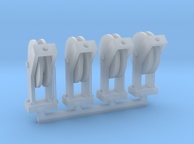 Hose Reel 4pack 1-64 Scale