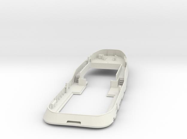 Main Deck & Bullwark 1/200 V56 fits Harbor Tug in White Natural Versatile Plastic