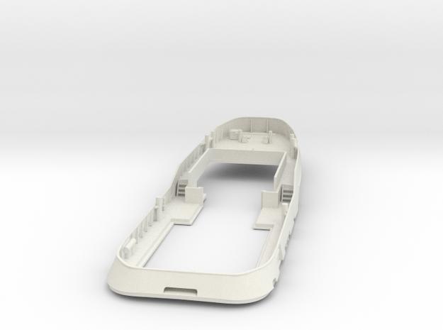 Main Deck & Bullwark 1/100 V56 fits Harbor Tug in White Natural Versatile Plastic