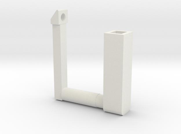 Backup Return Elevator slide F and G in White Natural Versatile Plastic