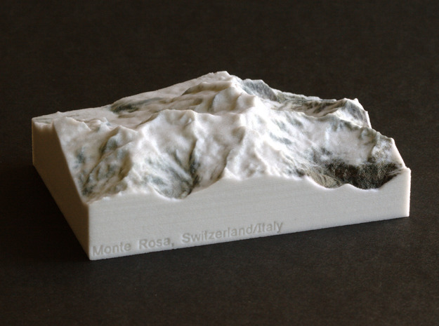 Monte Rosa, Switzerland/Italy, 1:150000 Explorer in Full Color Sandstone