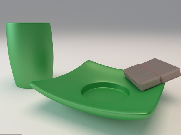 Espresso Cup (tall) 3 3d printed