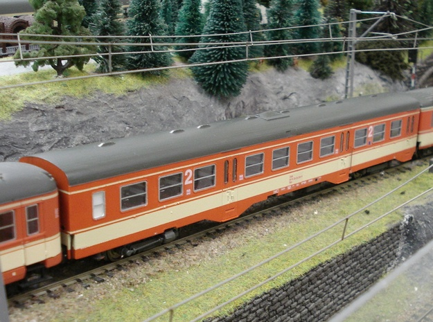 #07A OBB H0(1:87) '50 81 20-34 000' Wagenkasten in Frosted Ultra Detail