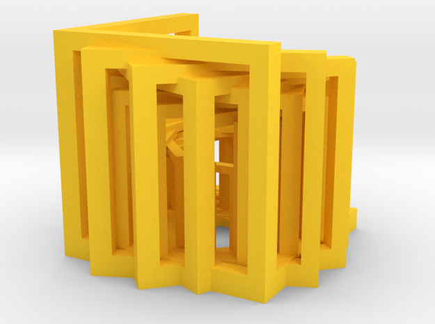 Sterling Mirrors in Yellow Processed Versatile Plastic