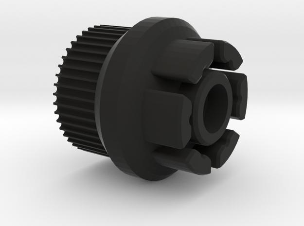 Evolve  GT 83mm Speed Hack for Boosted Board V2 in Black Natural Versatile Plastic