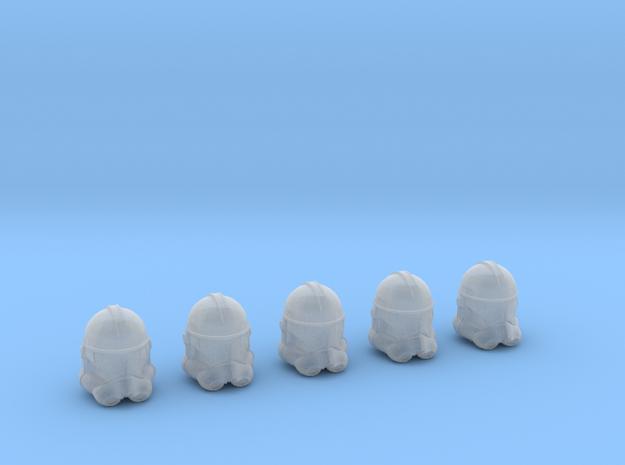 Clone Trooper Helmets - 5 Pack (1:58 Scale)
