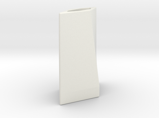 Blade Emitter in White Natural Versatile Plastic